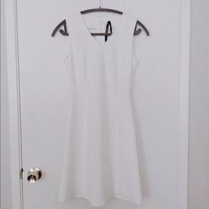 White Andrew Marc New York Dress